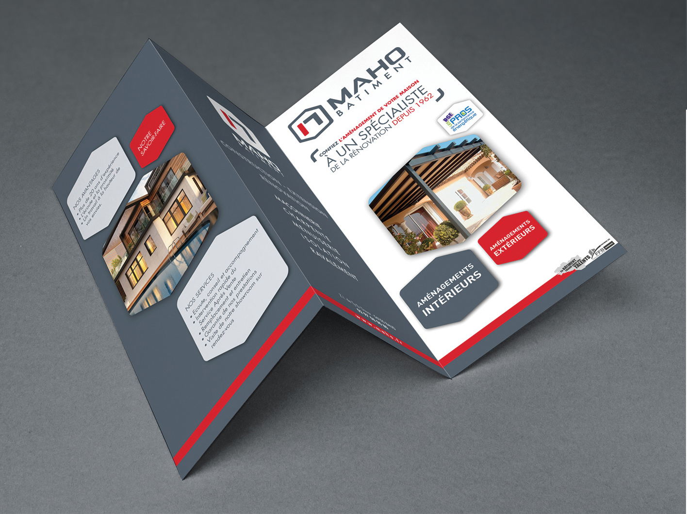 Maho-architecture-dépliant-logo-communication-bretagne