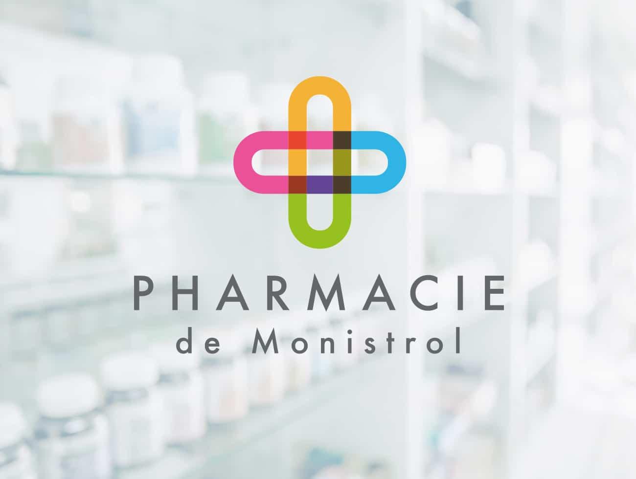 pharmacie-monistrol-communication-bretagne-lorient-logo-identité-visuelle