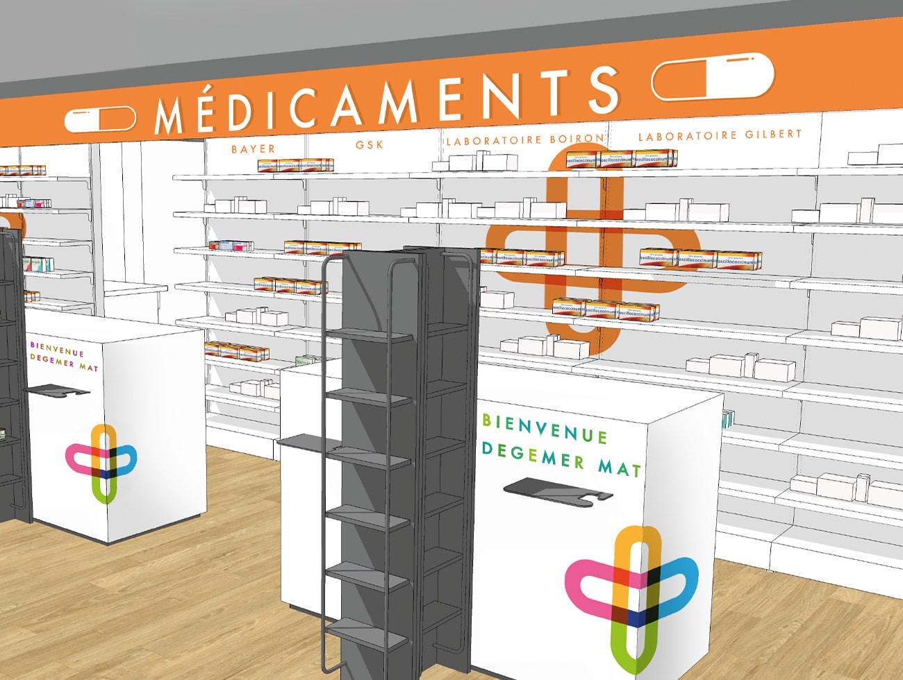pharmacie-monistrol-communication-bretagne-lorient-scénarisation-de-locaux