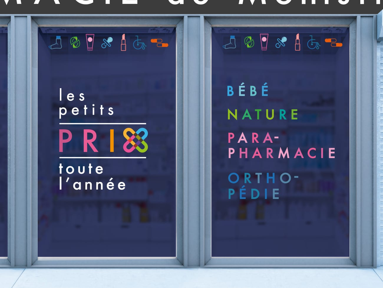 pharmacie-monistrol-communication-bretagne-lorient-signalétique-intérieure-et-extérieure